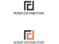 Roker Distributors Logo Design