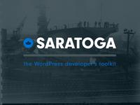 Saratoga Wordpress Framework: Logo!