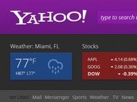 Yahoo Dribble