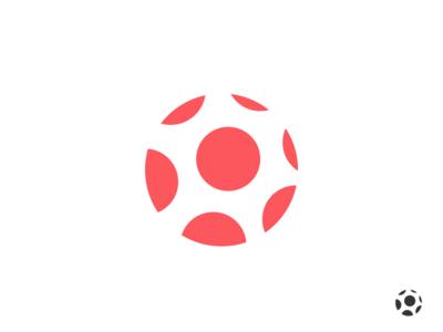 Ball. icon design mark logo illustration branding vector