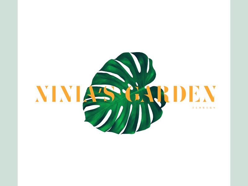 Garden. abstract branding design mark logo branding vector design