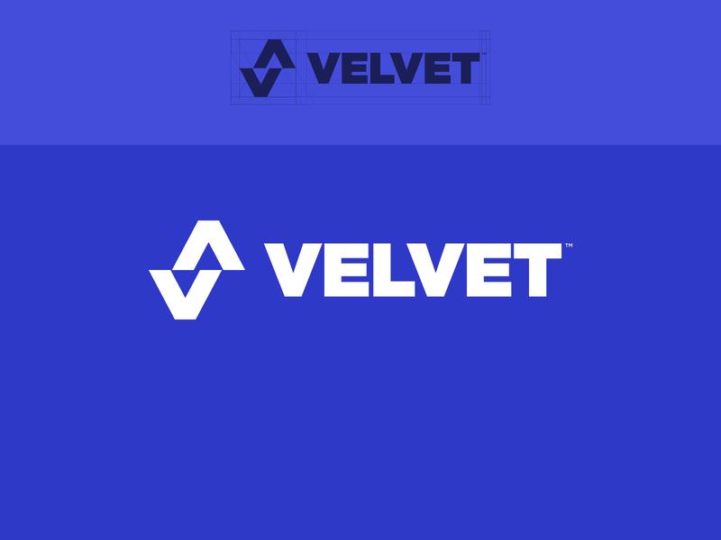 Velvet. icon design branding design logo mark illustration branding vector
