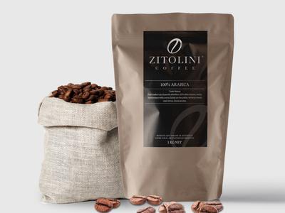 Zitolini Coffee Label