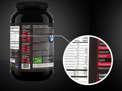 Apollon nutrition bottle further look