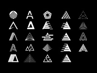 A Icon logo concepts app ui typography design branding illustration icon logo
