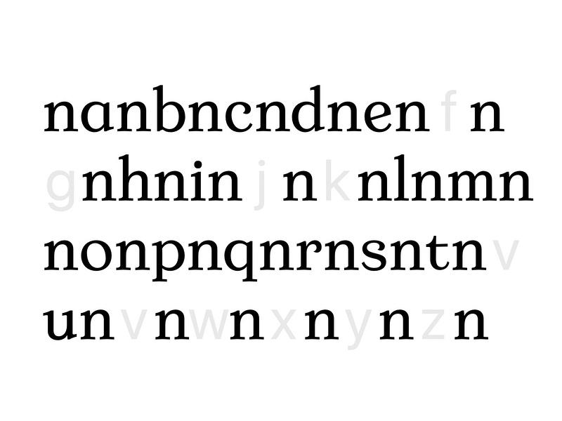 Francesco Ricotti type graphic design serif type design typography type