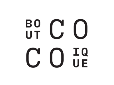 Coco Boutique graphic design logo identity