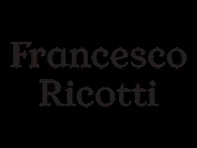Francesco Ricotti fashion type design custom type logotype logo
