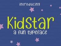 Kidstar Fun Font