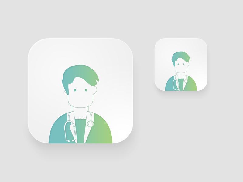 Icon Professions web 3d 2d ux ui logo lettering illustration icon branding app animation