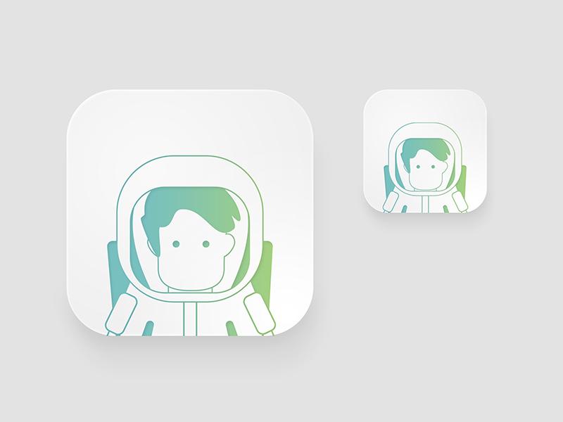 Icon Profession flat animation web app branding ux icon typography ui design logo illustration