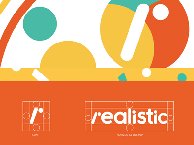 Realistic Branding vector art direction creative design creative type logo brand identity design branding graphic design