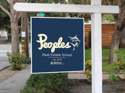 People's Real Estate Sign