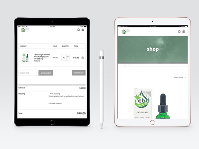 Colorado Better Days Website web development marketing graphic design ecommerce product cannabis cbd uxui website design website
