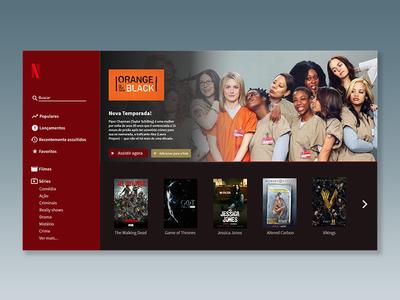 Netflix alternative design