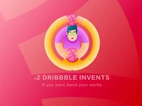 X2 Dribbble Invents