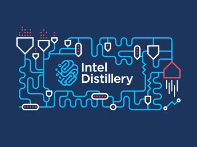 Intel Distillery Illustration