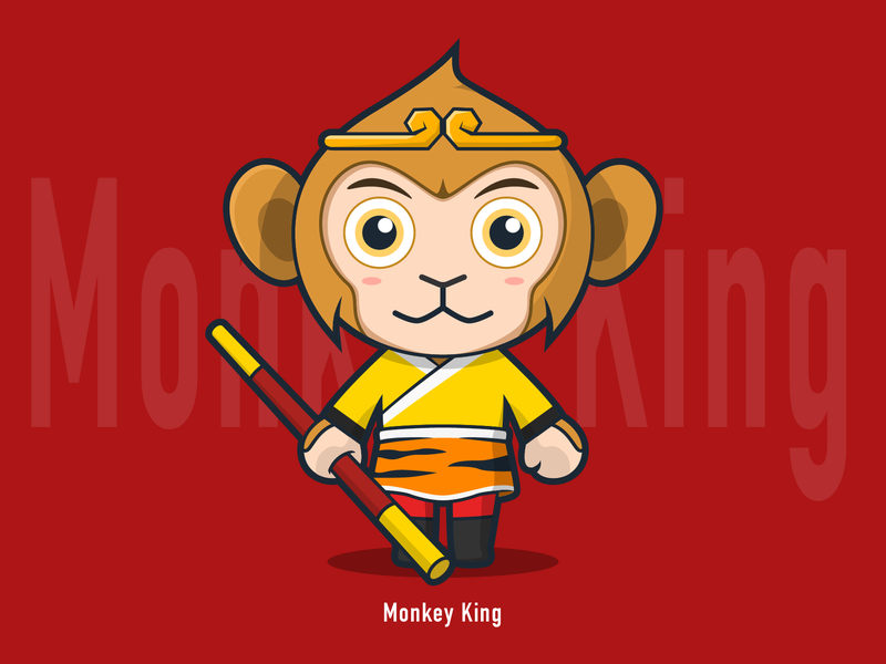 Monkey King by Jiang Feng on Dribbble
