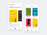 Book Apps - Design Exploration