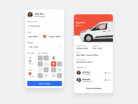 Shuttle Booking Apps - Design Exploration