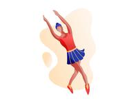Ballet Girl - Illustration Exploration