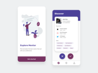 Find Mentor Apps - Design Exploration
