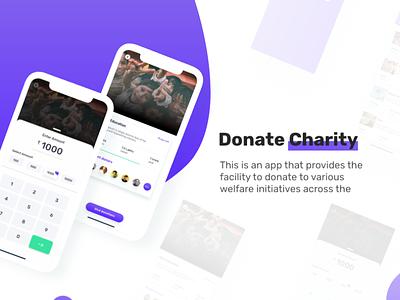 Donate charity child app seva charity donate illustration akashmishra ui uiux design