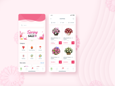 Flower Shopping App
