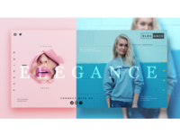 FASHION ECOMMERCE WEB DESIGN CONCEPT