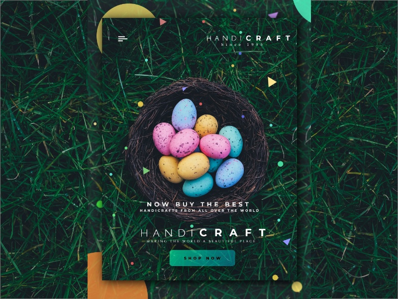 Ecommerce App Design Concept For Handicraft Products By Mayank Shah