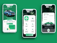 Car Maintainance App UI Design Concept