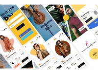 BIBA - Ecommerce Fashion App Design Concept