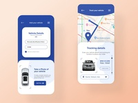 Car Tracking Mobile ui