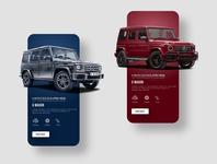 Mercedes Benz Mobile App UI Design