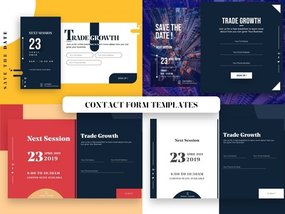 Attractive Contact Form Templates Download