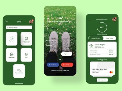 Bill Payment App UI Design