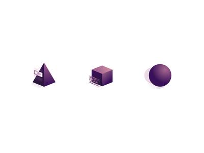 Icons for my portfolio website