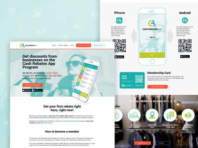 Website Design Rebates App