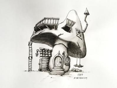 Illustration Inktober 2019 - Day 5
