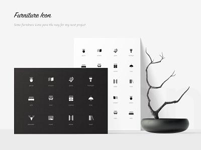 Furniture Icon app illustration icon ui 图标