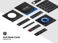 Dark Mode Cards / UI Kit