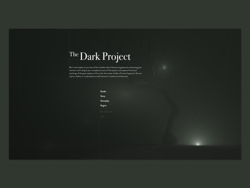 Indie Game DP Landing Page