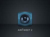 airTweet2 Icon WIP