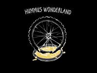 Hummus Wonderland Illustration