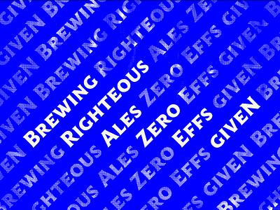 Brazen Brewing Tagline