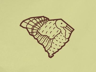 South Cackalacky - Wild Turkey state south carolina turkey