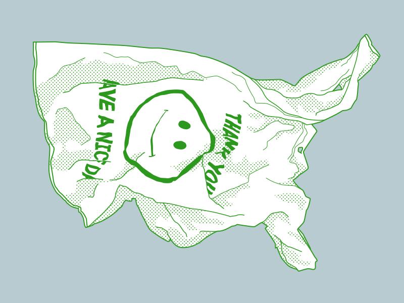 United States of Plastic usa bag plastic