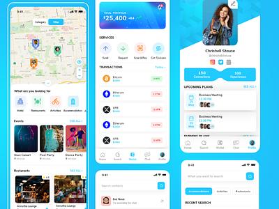 Travel & Leisure App accommodations travel app