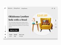 Furniture Sofa slider