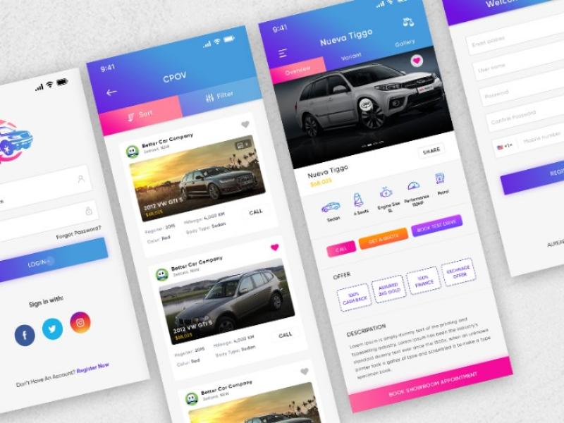 Buy car app mobile app andtoid app app ios app buy car app sell app car app car